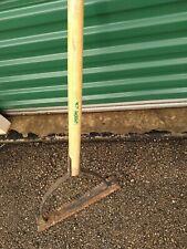 VTG Union Wood Handle Swing Sickle Scythe Weed Grass Cutter Blade Garden Tool