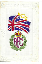 More details for wwi  period - embroidered silk - royal flying corps - union flag