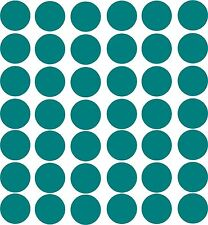 polka dot circles choose your color 42- 3 inch diameter girls room wall decals