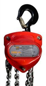 GT Viper Chain Block Hoist- 500kg x 3m