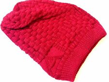 New Unisex Mens Ladies Knitted Woolly Winter Oversized Slouch Beanie Hat Cap