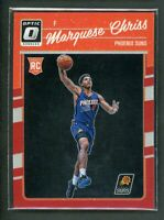 2016-17 MARQUESE CHRISS 86/99 PANINI DONRUSS OPTIC RED ROOKIE RC #158