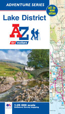 Lake District Adventure Atlas by A-Z Maps (OS 1:25000 mapping, Paperback)