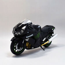 New Ray 1:12 Kawasaki Ninja ZX 14R Motorcycle Bike Model New Black