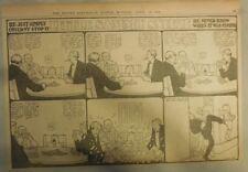 Little Sammy Estornuda por Winsor Mccay desde 4/30/1905 ! Mitad Página Tamaño
