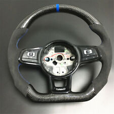 Replace Carbon Fiber Steering Wheel For Volkswagen Golf 7 MK7 GTI Golf R 14-18