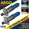 2Pcs 55w H1 8500k Xenon Gas Halogen Headlight White Light Lamp Fog Hid Bulbs 12v