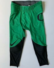 NIKE Mens Oregon Ducks Padded Tight Football Pants | Green | Large | 826499  NWT