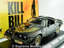 KILL BILL PONTIAC FIREBIRD TRANS AM MODEL CAR 1:43 SCALE GREENLIGHT 86452 K8Q