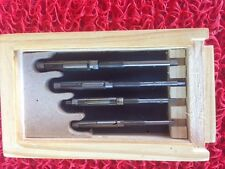 "Expanding Reamer set 1/4 to 3/8""  4pc  small sizes  CARBON BLADES"