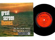 "JOHN BARRY ""BOND"" / PERCY FAITH.SCREEN THEMES.7"" EP.UK ORIG & PIC/SL.VG+/EX"