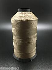 8oz Spool T70 Khaki Tan Bonded Nylon Sewing Thread 3000 Yards #69 Fabric N98