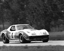 Vintage 8 X 10 1969 Sebring Owens Corning Corvette No. 1 Racing Photo