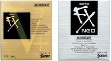 NEW SANTE FX NEO Cool Eye Drops or Vplus v+ Eyedrops 12ml from japan