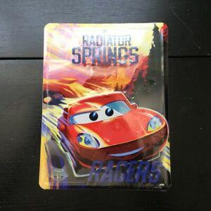 "Disney Pixar Radiator Springs tin sign Lightning McQueen 11"" New"