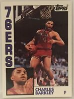 1993 Topps Archives  Charles Barkley Card #44 76ers and Phoenix Suns NBA PF