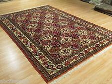 7x10 Super Fine Persian Museum Bakhtiari Handmade Knotted Wool/Silk Rug 582124