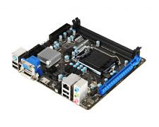 Scheda madre msi mini itx lga 1155 socket h61 per ram ddr3 hdmi vga dvi computer