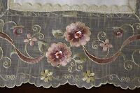 Pink Rhinestone Jeweled Embroidery Lace Placemats Runner Table Cover Home Decor