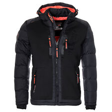 Geographical Norway warme Herren Winter jacke FVSA Steppjacke Parka SKI Outdoor