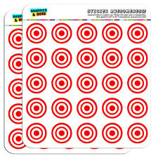 "Target Sniper Scope Bullseye 1"" Scrapbooking Crafting Stickers"