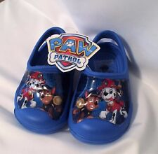 Paw Patrol Chase and Marshall boys New clog shoes sm 5/6