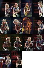 14 DIFFERENT 5X7 PHOTOS OF RANDY RHOADS OF OZZY