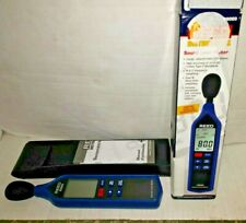 REED Instruments R8060 Sound Level Meter with Bargraph brand new opened too test