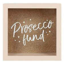Prosecco Fund Money Box Novelty Gift For Her Hen Party Brand New Pink