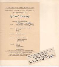 Dalton Baldwin Pianist Musiker 1960 Autograph Autogramm Bühne