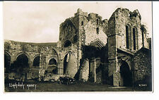 PHOTOCHROM POSTCARD LLANTHONY ABBEY RP C1920 No 57303 Old convertable visible