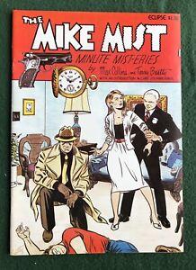 Mike Mist Minute Mystery Eclipse Comics Bronze Age fvf