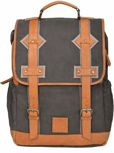 Sts Ranch Wear STS Ranchwear Grey Canvas Backpack