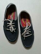 Skechers Womens Goga Max Shoes Denim Comfort Size 6 Pre Owned