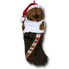 Star Wars Chewbacca Plush Christmas Stocking Official Disney Merchandise