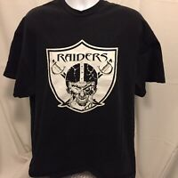 Oakland Raiders Nation T-Shirt 2XLT 2XT Tall Two Sided 2006 Schedule