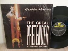 "Freddie Mercury 33 rpm Philippines 12"" EP LP QUEEN the great pretender"