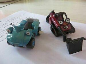 2 x bob builder toys blue quad red benny childrens quad bike