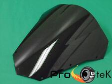 2004-2010 Yamaha FZ6 Fazer ABS Black Smoke Double Bubble Windscreen Windshield