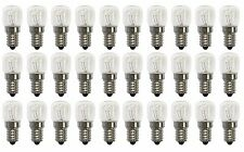 30 X 7W (240V SES E14) - Clear Bulbs for Salt Lamps/Selenite Lamps