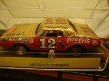 1969 Mercury Cougar Bobby Allison Coca Cola     #12 HO tjet Slot Car