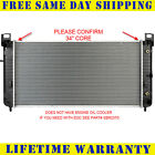 "Radiator For Chevy GMC Fits Silverado Sierra V8 34"" Core W/O Engine Oil Cooler"