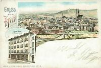 Ansichtskarte Hof 1901 Total Kaiser-Bazar
