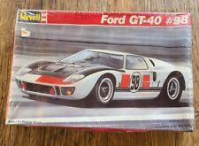 SEALED~Vintage~Revell #98 Ford GT-40~Model CAR Kit~7131~1989
