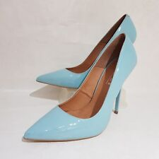 OFFICE London Patent Leather Pointy Toe Stiletto Court Shoes Office Work UK 7 40