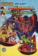 Les Défenseurs N°7 - Mandrill Contre-attaque - Arédit-Marvel Comics - 1983 - BE