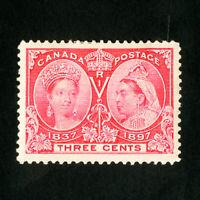 Canada Stamps # 53 Jumbo OG LH