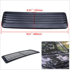 Cool Universal Car Autos Decorative Air Flow Intake Scoop Bonnet Vent Cover Hood