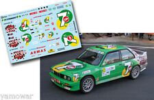 Decal 1:43 Jose Maria Ponce - BMW M3 - Rally Islas Canarias El Corte Ingles 2012