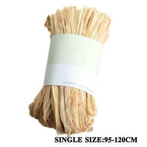 10roots/bag Raffia Natural Rope DIY Crafts Wedding Gift J9H3 Packing U8K5